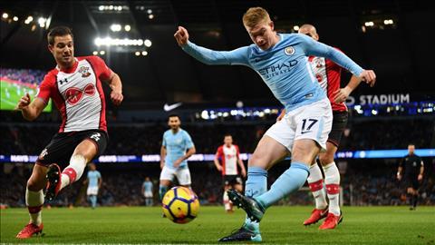 Man City vs Southampton vong 4 cup Lien doan Anh