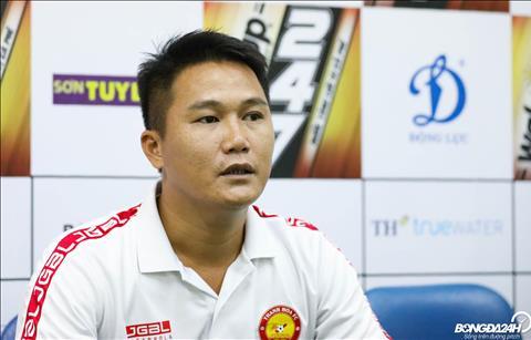 HLV Mai Xuan Hop cho biet neu thu mon Bui Tien Dung tro lai la dieu tot voi CLB Thanh Hoa.