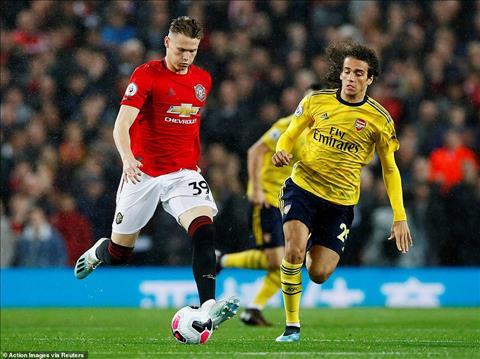 MU 1-1 Arsenal Kinh điển xuống cấp và chút hy vọng mờ tỏ hình ảnh