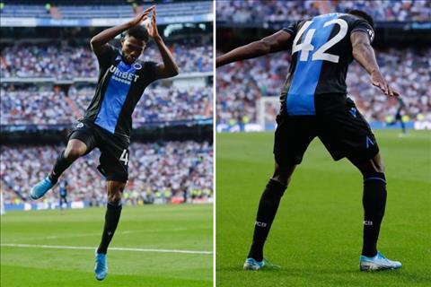VIDEO Tiền đạo CLB Brugge giải thích lí do ăn mừng như Ronaldo hình ảnh