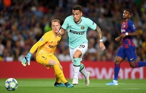 Barca vs Inter Martinez