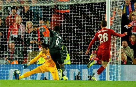 Liverpool vs Salzburg Andy Robertson ghi ban