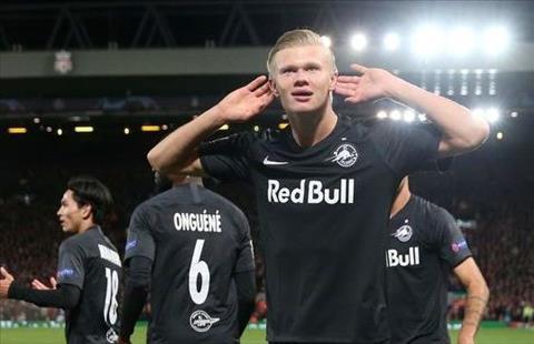 Liverpool vs Salzburg Erling Haaland