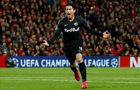 Thống kê Liverpool 4-3 Salzburg Các vị khách gây ngạc nhiên hình ảnh