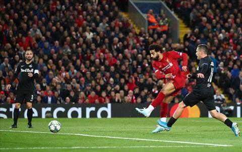 Liverpool vs Salzburg Salah ghi ban