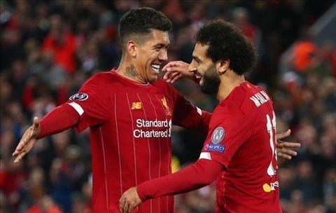 Liverpool vs Salzburg Salah va Firmino