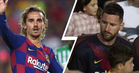 Lionel Messi nói về mâu thuẫn với Griezmann hình ảnh