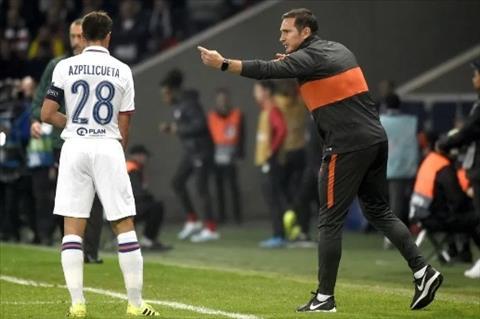 HLV Lampard tran vs Lille