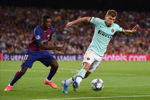 Nicolo Barella nói về trận Barca vs Inter Milan hình ảnh