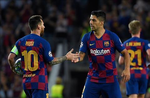 Barca 2-1 Inter HLV Valverde ca ngợi Messi vs Suarez hình ảnh