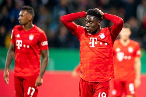 Bàn thắng kết quả Bochum vs Bayern Munich 1-2 cúp quốc gia Đức hình ảnh