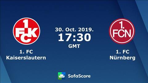 Kaiserslautern vs Nurnberg 0h30 ngày 3110 Cúp Quốc gia Đức hình ảnh