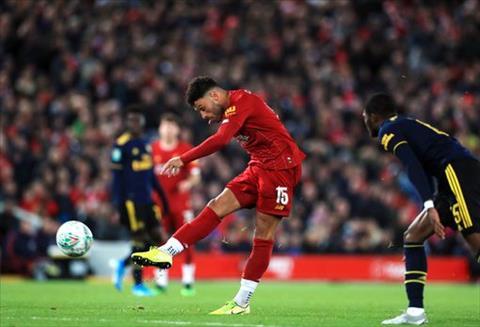 Liverpool 5-5 (pen 5-4) Arsenal The Kop vào tứ kết cúp Liên đoàn Anh sau đại tiệc ở Anfield hình ảnh 4