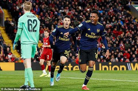 Liverpool 5-5 (pen 5-4) Arsenal The Kop vào tứ kết cúp Liên đoàn Anh sau đại tiệc ở Anfield hình ảnh 5