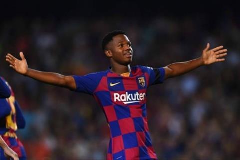 Barca ký hợp đồng mới với Ansu Fati hình ảnh
