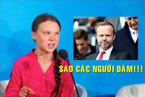VIDEO Bài phát biểu của Greta Thunberg không khác gì câu chửi MU hình ảnh