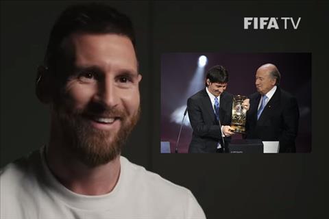 VIDEO Lionel Messi bồi hồi nhìn lại khoảnh khắc vinh quang năm 2009 hình ảnh