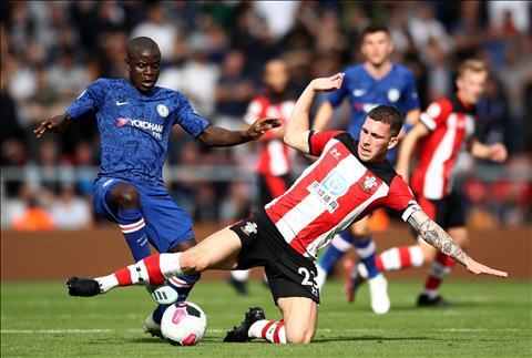 Chelsea vs Southampton Kante di bong