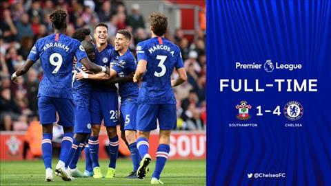 Ket qua Southampton 1-4 Chelsea