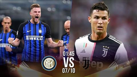 Inter Milan vs Juventus 1h45 ngày 710 Serie A 201920 hình ảnh