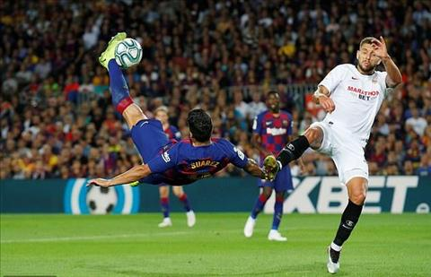 Barca thang Sevilla 4-0 Suarez da phat