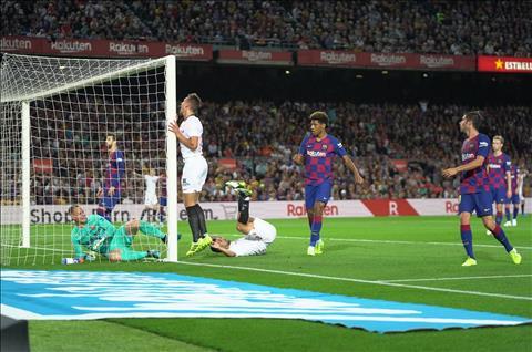 Dư âm Barca 4-0 Sevilla Bảng tỷ số biết nói dối hình ảnh