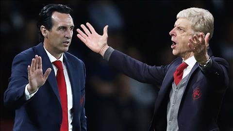 HLV Wenger ghen tị với cách mà Emery đang được đối xử ở Arsenal hình ảnh
