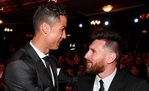Lionel Messi 'Tôi muốn Ronaldo ở lại Real Madrid' hình ảnh