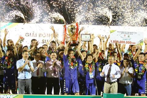 Hà Nội và những đội bóng từng vô địch cúp quốc gia trong lịch sử hình ảnh