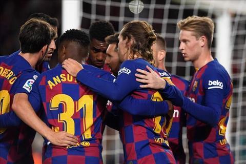 Barca 4-1 Celta Vigo Messi đá phạt thăng hoa, Blaugrana bảo vệ ngôi đầu La Liga hình ảnh 2