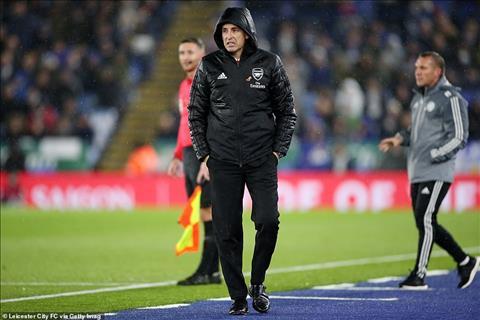 Leicester 2-0 Arsenal Chuẩn bị lên thớt Emery vẫn hứa hẹn xa vời hình ảnh