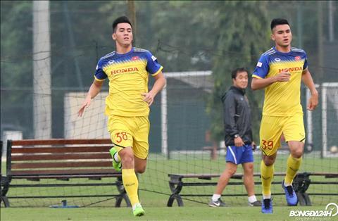 Trong tran mo man vong loai World Cup 2022 gap DT Thai Lan, Tien Linh tung duoc thay Park bo tri ra san ngay tu dau.