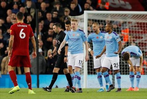 MAn City thua Liverpool