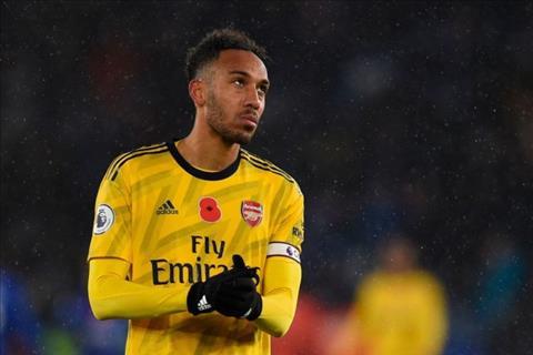 Aubameyang đeo băng đội trưởng của Arsenal thay Xhaka hình ảnh