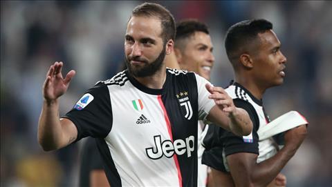 Gonzalo Higuain ký hợp đồng mới với Juventus hình ảnh