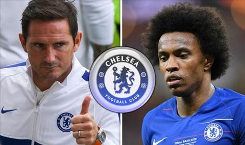 Tương lai Willian được Lampard quyết định hình ảnh