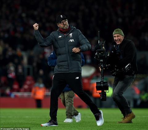 Doi bong cua Klopp da hon Man City 9 diem
