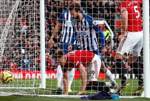 Thống kê MU 3-1 Brighton Điểm tựa Old Trafford hình ảnh