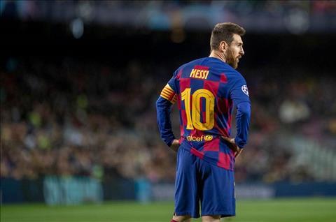 Thần đồng Barca dành sự ngưỡng mộ cho Lionel Messi hình ảnh