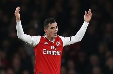 Tim nhà ở Italia, Granit Xhaka rời Arsenal vào tháng 1 hình ảnh