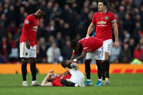 Scott McTominay dính chấn thương sau trận thắng Brighton hình ảnh