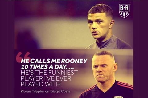 Hậu vệ Kieran Trippier bị fan Madrid gọi là Rooney hình ảnh