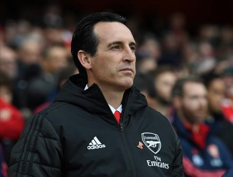 Arsenal sa thải HLV Unai Emery vào tháng 1 năm 2020 hình ảnh