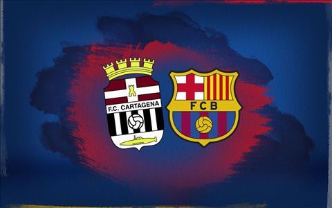 Lịch thi đấu bóng đá hôm nay 1311 Cartagena vs Barca hình ảnh