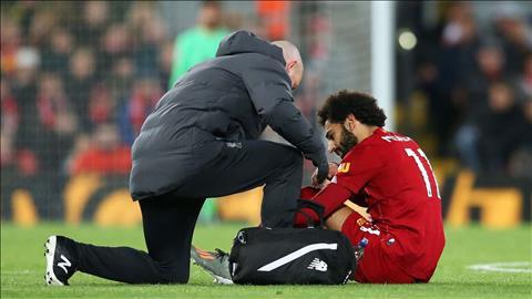Mohamed Salah rời ĐT Ai Cập vì chấn thương hình ảnh