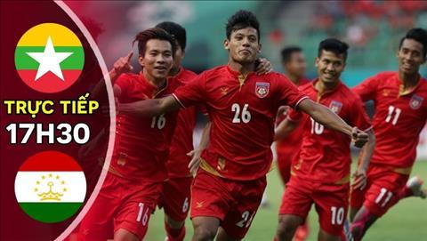 Myanmar vs Tajikistan 17h30 ngày 1411 vòng loại World Cup 2022 hình ảnh