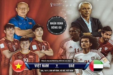 Kết quả Việt Nam vs UAE - Vòng loại World Cup 2022 hôm nay