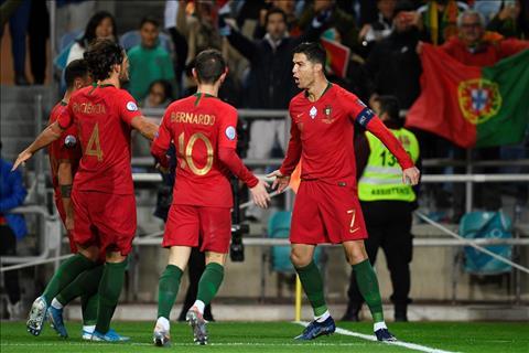 BĐN 6-0 Lithuania Ronaldo lập hattrick, Seleccao thắng lớn nhưng chưa thể giành vé dự VCK Euro 2020 hình ảnh 2