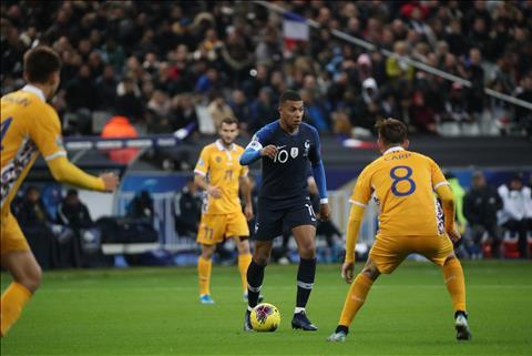 Bàn thắng kết quả Pháp vs Moldova 2-1 vòng loại Euro 2020 hình ảnh
