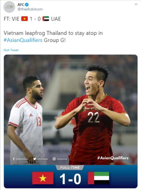 Báo chí châu Á nói gì về kết quả Việt Nam thắng UAE 1-0 hình ảnh